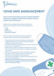 Covid Safe Dentist Penrith